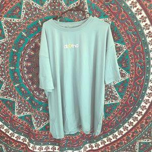 Women's Xl aloha t-shirt
